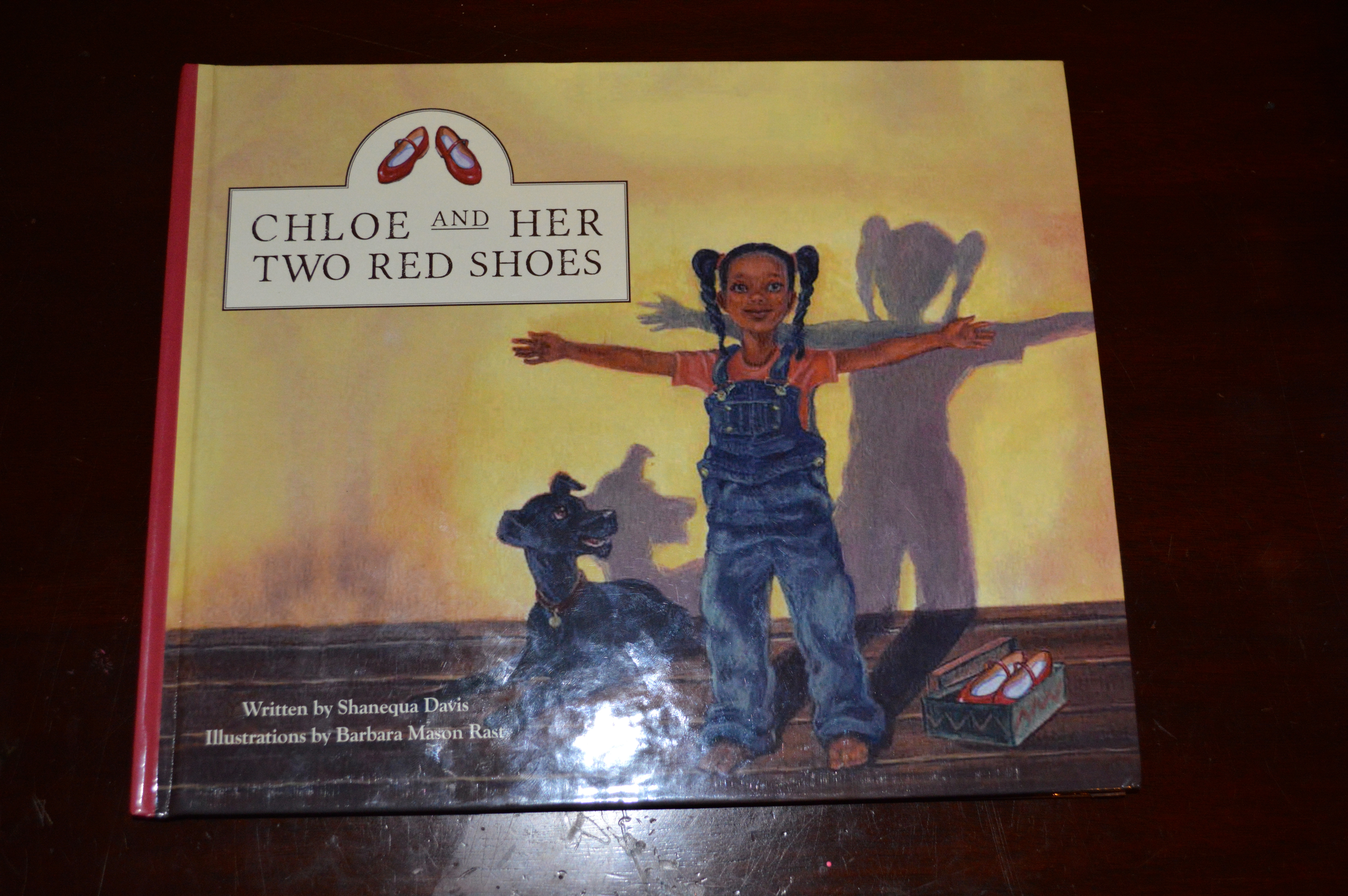CHLOE and HER TWO RED SHOES - Siddy in The Sity